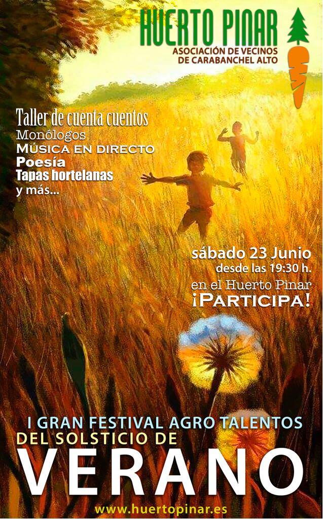 Festival de Agrotalentos del Solsticio de Verano 2018